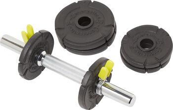 ENERGETICS 10 kg Cast Iron gewichtenset Zwart