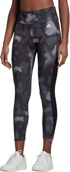 adidas Designed To Move Allover Print 7/8 Legging Dames Zwart