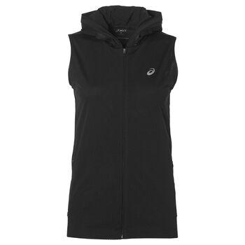 Asics FuzeX hoodie Dames Zwart