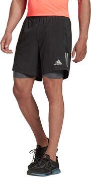 adidas Own the Run Two-in-One short Heren Zwart