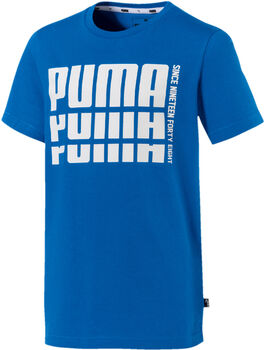 Puma Rebel Bold Basic shirt Blauw
