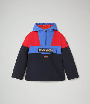 Napapijri Rainforest Winter kids jas Jongens Blauw