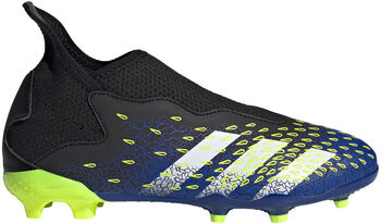 adidas Predator Freak.3 Veterloze Firm Ground Voetbalschoenen Zwart