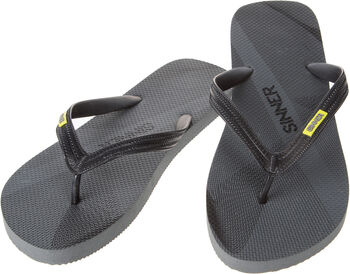 Sinner Ruteng slippers Heren Zwart