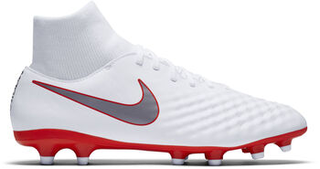 Nike Magista Obra 2 Academy Dynamic Fit FG voetbalschoenen Wit
