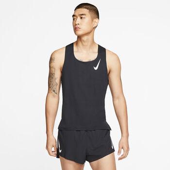 Nike Aeroswift Running top Heren Zwart