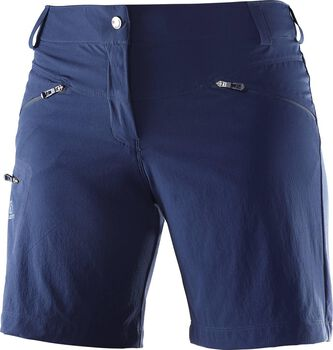 Salomon Wayfarer short Dames Blauw