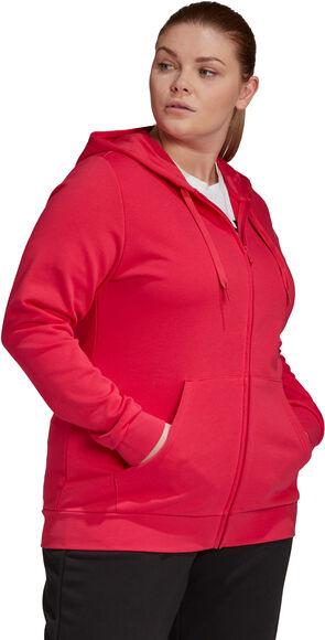 Essentials Hooded Full Zip trainingsjack (Grote Maat)