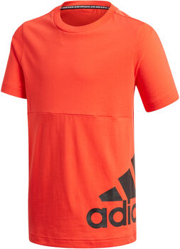 adidas Must Haves Big Logo kids shirt  Jongens Rood