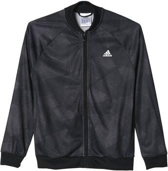 Adidas yb training ts Jongens Zwart