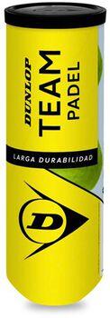Dunlop Team Padel ballen Geel