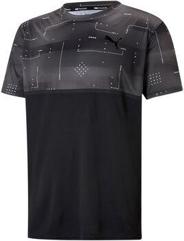 Puma Train Aop t-shirt Heren Zwart