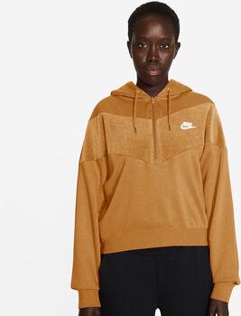 Nike Sportswear Heritage Half-Zip hoodie Dames