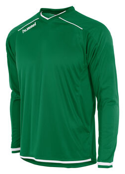 Hummel Leeds Shirt Ls Heren Groen