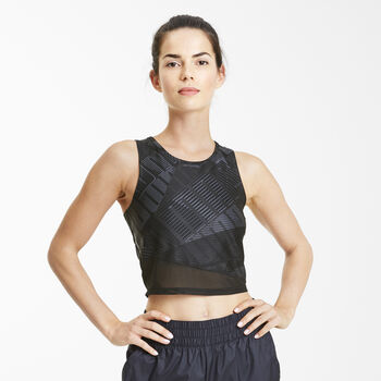 Puma Be Bold Crop top Dames Zwart