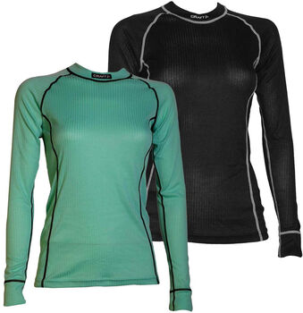Craft Active longsleeve 2-pack Dames Zwart