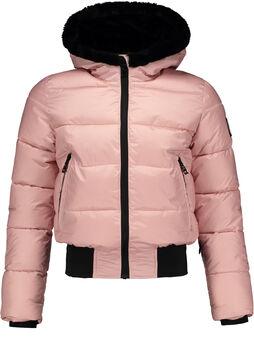 SUPERREBEL Sustainable Basic Shiny kids ski-jas Meisjes Roze
