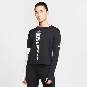 Nike Therma Sphere longsleeve Dames Zwart