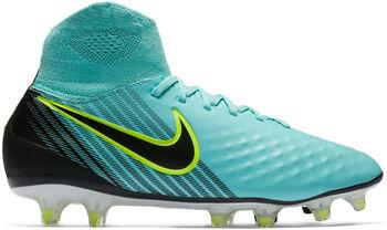 Nike Magista Orden II FG voetbalschoenen Dames Blauw
