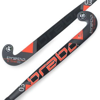Brabo TC-3 zaalhockeystick Heren Wit