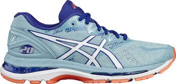 Asics GEL-Nimbus 20 hardloopschoenen Dames Blauw
