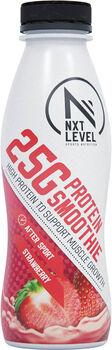 NXT Level Proteïne Smoothie aardbei 330 ml Wit