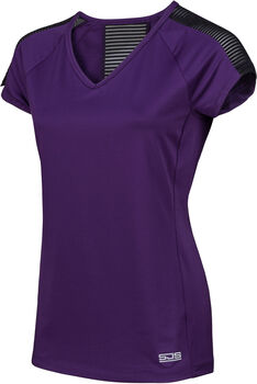 Sjeng Sports Tace Plus shirt Dames Paars
