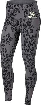 Nike Sportswear Leopard tight Dames Grijs