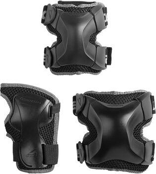 Rollerblade X-Gear 3 Pack beschermers Zwart