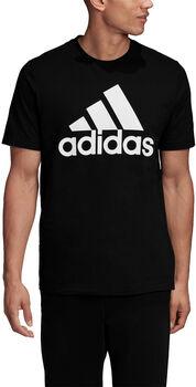 adidas Must Haves Badge of Sport t-shirt Heren Zwart