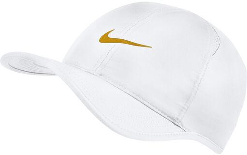 Nike - Featherlight pet - Unisex - Petten, Hoeden en Mutsen - Wit - 1SIZE