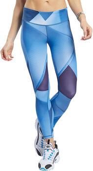 Reebok TX Lux Bold 7/8 2.0 legging Dames Blauw