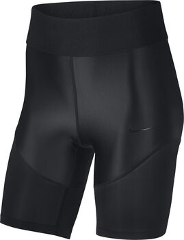 Nike Pro Hypercool Fall Glamour short Dames Zwart