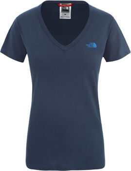 The North Face Simple Dome shirt Dames Blauw