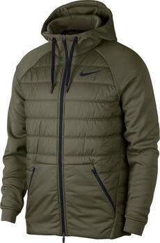 Nike Therma hoodie Heren Groen