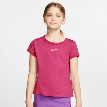 Nike Court Dry kids shirt  Meisjes Roze
