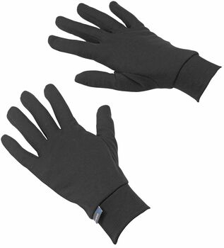 Odlo gloves warm Zwart