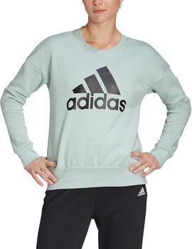 adidas Badge of Sport Sweatshirt Dames Groen