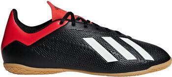 ADIDAS X 18.4 IN zaalvoetbalschoenen Heren Zwart
