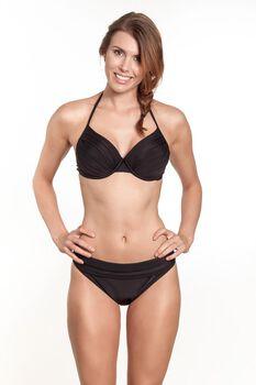 Manouxx Solid Padded Wire bikini Dames Zwart