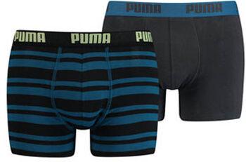 Puma Heritage Stripe boxer (2 paar) Heren Oranje