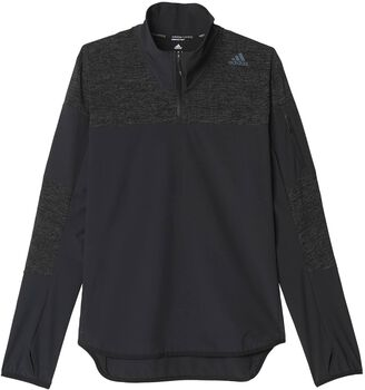 ADIDAS Supernova STM 1/2 Zip shirt Heren Zwart