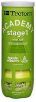 tretorn academy green 3-tube