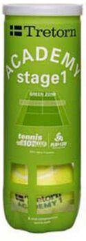 tretorn academy green 3-tube Groen