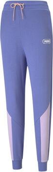 Puma Rebel Hoge Taille broek Dames Blauw