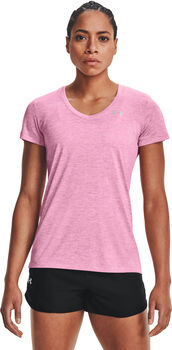 Under Armour Tech SSV Twist shirt Dames Roze