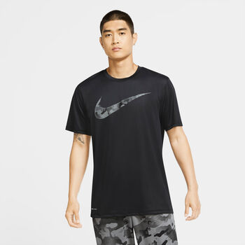Nike Dri-FIT t-shirt Heren Zwart