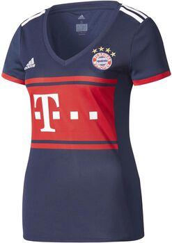 Adidas FC Bayern München Dames uitshirt 2017-2018 Blauw