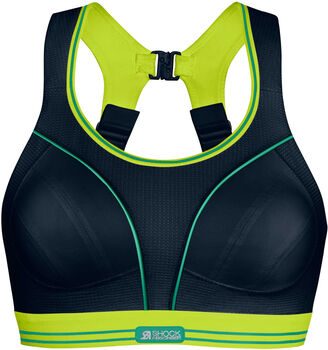 Shock Absorber Ultimate Run sportbeha Dames Zwart