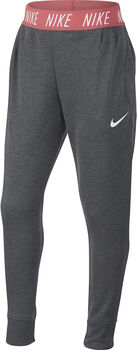 Nike Dry Studio broek Meisjes Grijs